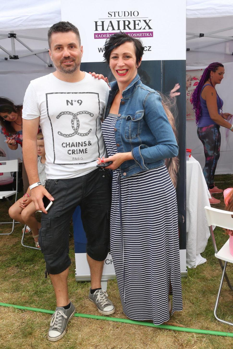 Krystína Frejová a Studio Hairex