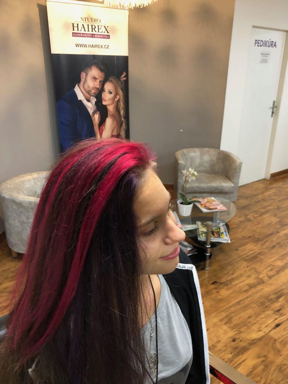 barvení vlasů Brno