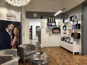 Prodejní zóna kadeřnictví