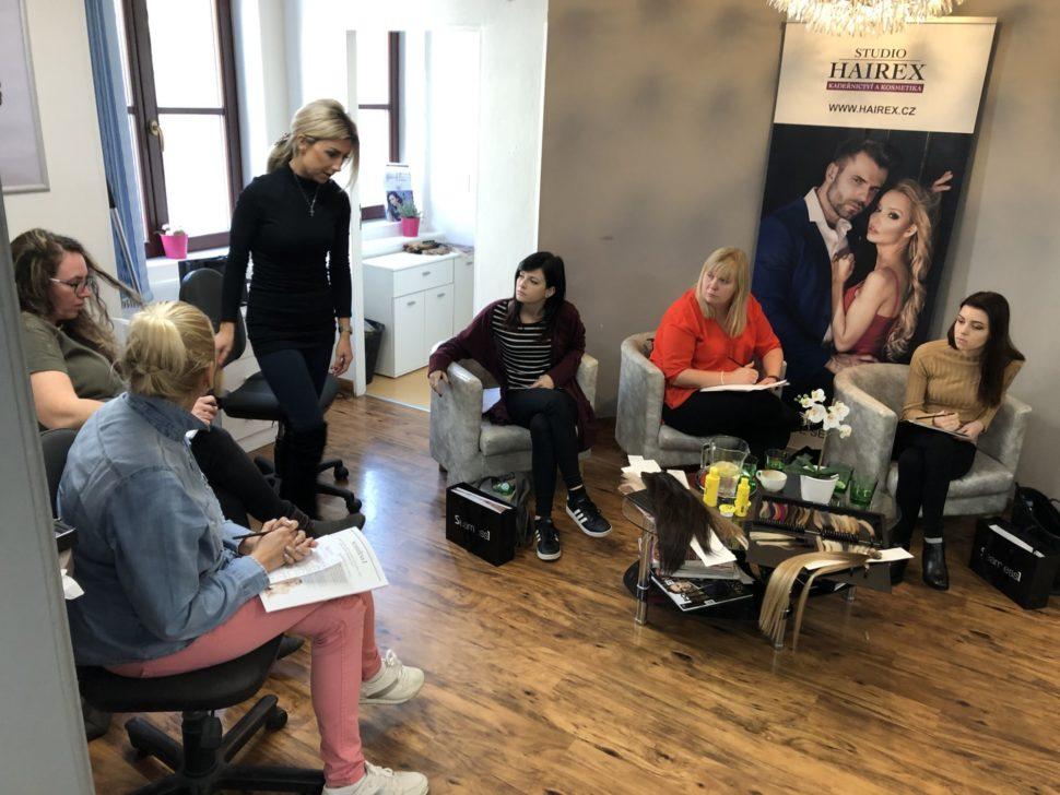 školení prodlužování vlasů Brno
