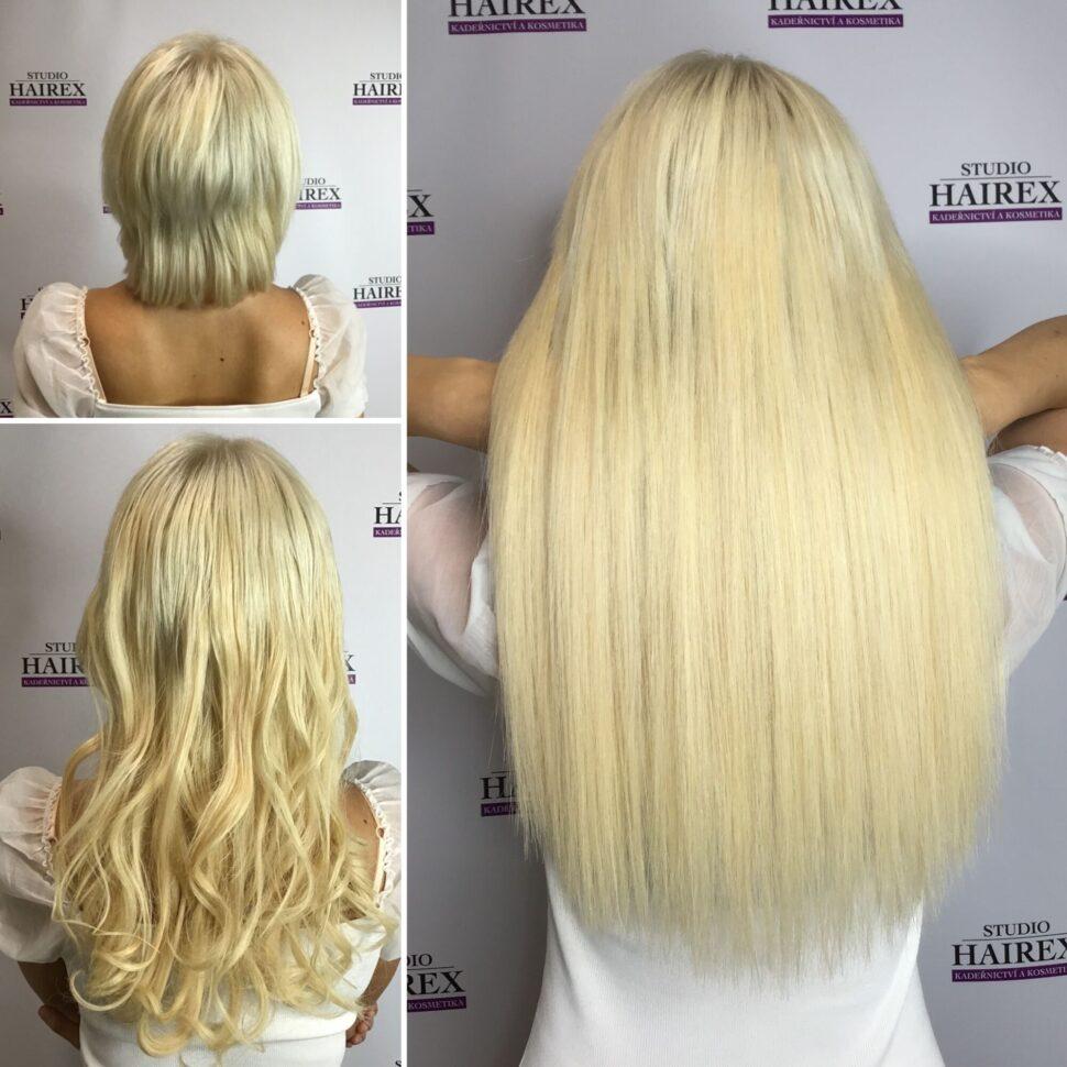 Prodloužení vlasů Hairex Beachbaby