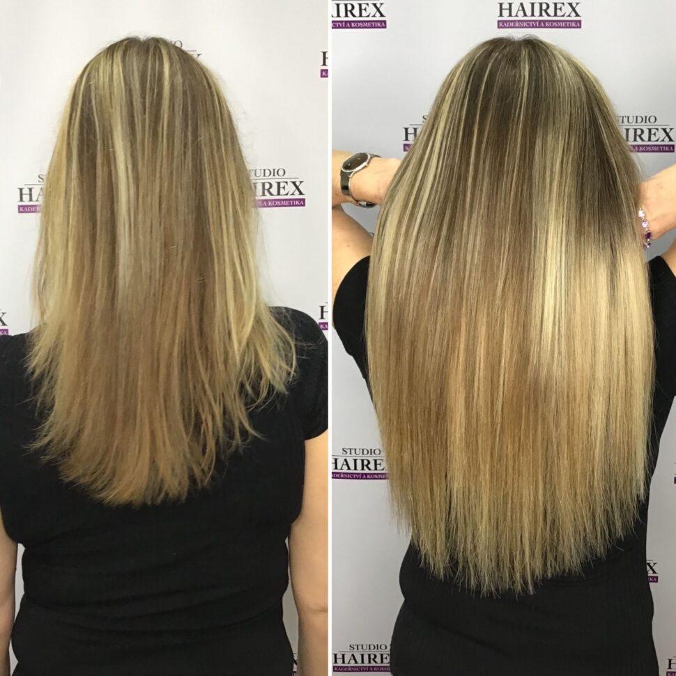 Prodloužení vlasů Hairex Seamless1